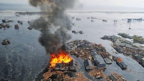 日本9级大地震,引发海啸高达24米,日本经济倒退10年!