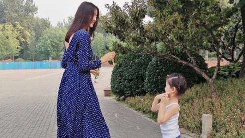张梓琳穿10年前旧裙子美貌依旧 3岁女儿身高令人震惊