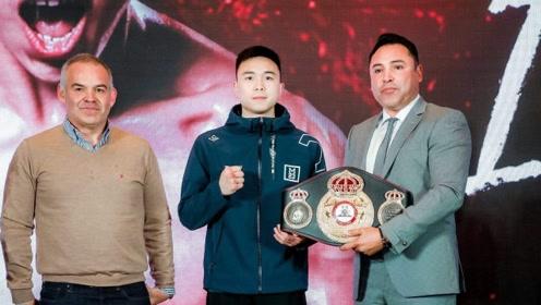 中国首位男子五星拳王徐灿勇敢面对质疑!