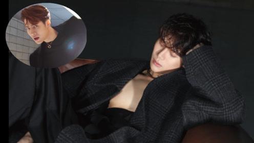 王嘉尔登上Vogue八月刊封面  五官中尽显英气展现性感魅力