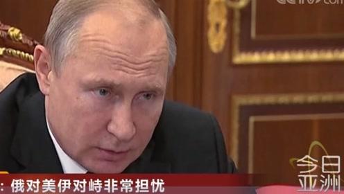 普京:俄对美伊对峙非常担忧