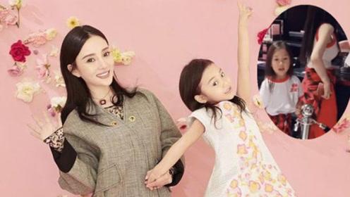 李小璐带甜馨逛街,母女穿亲子装美成姐妹花