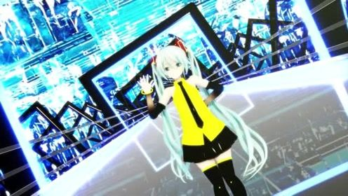 MMD-初音公主-舞蹈虚拟歌姬