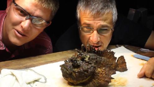 世界上最毒的鱼有多可怕?老外用泡沫模拟实验,隔着屏幕都害怕!