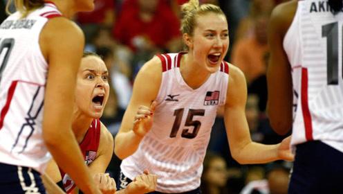 大事不好!美国女排两大王牌回归球队,中国女排夺冠压力剧增!