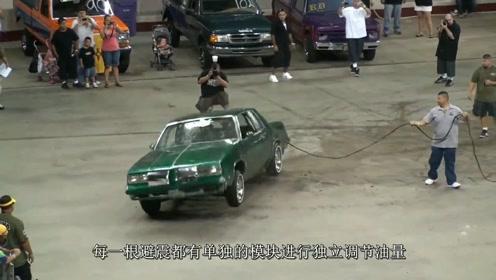 赛车级别霸气避震,汽车仿佛在跳舞