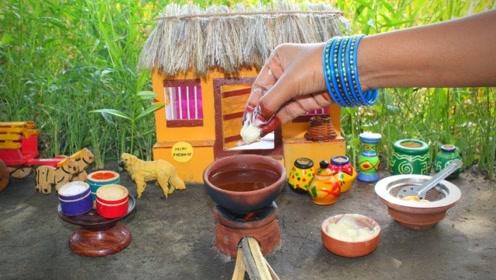 印度火爆的野外食玩:酸奶直接泡饼?这样的野炊我做梦都想玩!