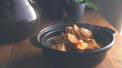 鲜香软糯,立秋首选,李现老家最好吃的排骨藕汤