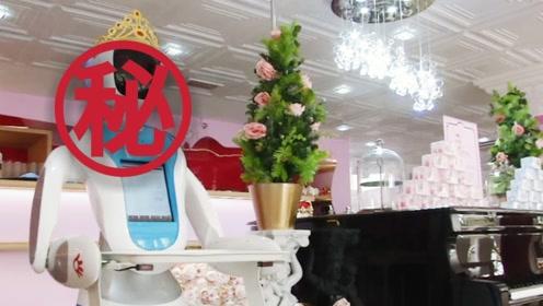 颜值与才华都在线!中国制造机器人服务员走红英国