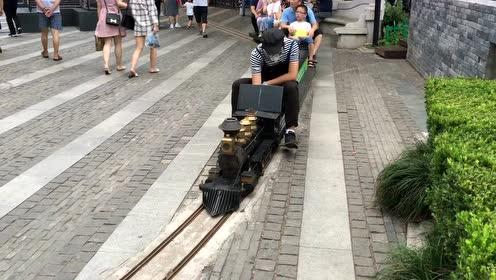 1912袖珍蒸汽小火车,给你童年的记忆