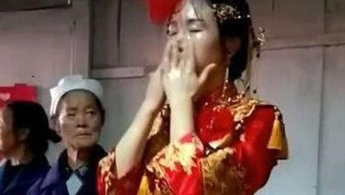 儿子结婚当天,婆婆要求新娘当场卸妆,卸妆后众人傻住了