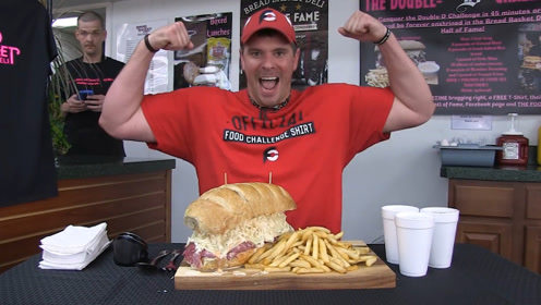 6磅三明治大挑战,大胃王也需要专业精神
