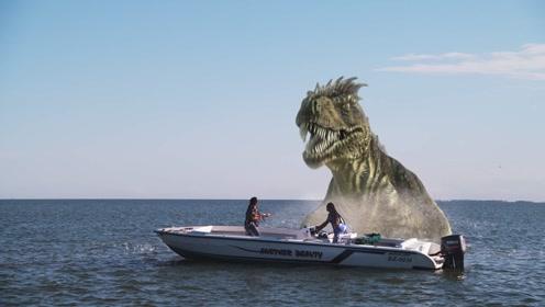 科学家发现万年前的恐龙,体型比鲸鱼还大,而且还能潜水