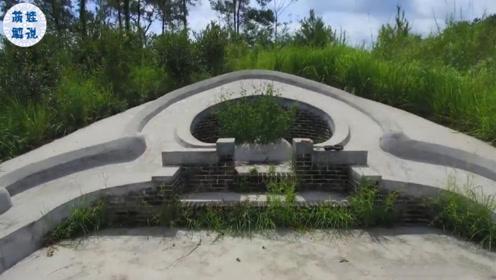 """土豪家风光大葬的墓地""""骑龙穴""""可富数代人"""