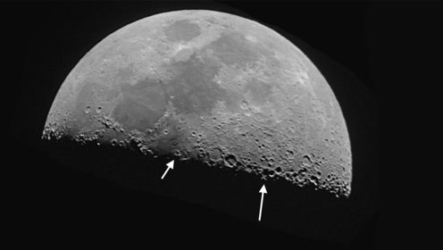 月球上的神秘黑点是什么?难道是外星文明根据地?你想的太多了!