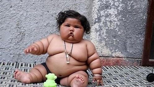 印度八个月宝宝体重达17公斤,要吃同龄孩子四倍的食物