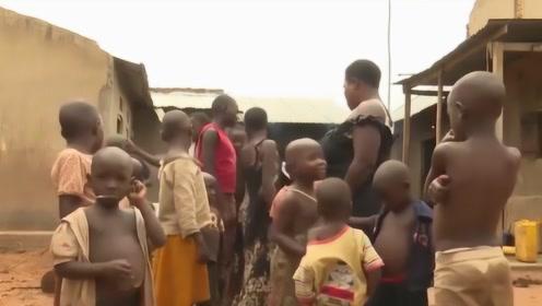 非洲女子不断怀孕,37岁生38个孩子,B超检查结果吓出冷汗!