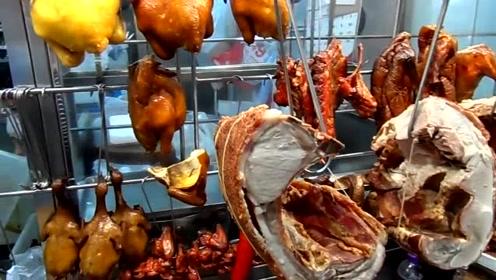 烧鸭店,今天特价,看看你们想吃哪个?