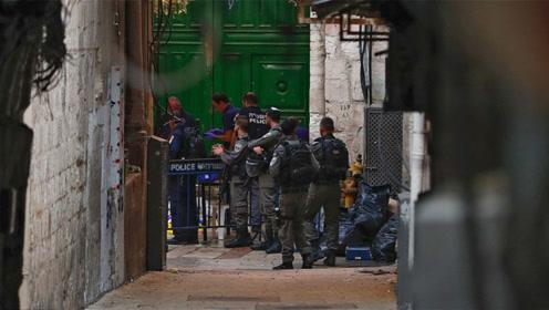 又一起袭击事件!两巴勒斯坦人刺伤以色列警察 被以警开枪打死