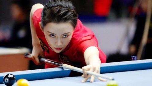 台湾台球女选手走红,颜值身材不输潘晓婷,网友:球技平分秋色!