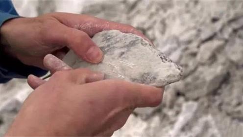 世界上最软的石头:手指用力就会碎,网友:基因突变?