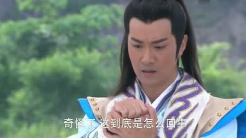 杨戬反应不及被一物刺伤,竟是一柄银尖宝戟滴血认主,杨戬懵逼!