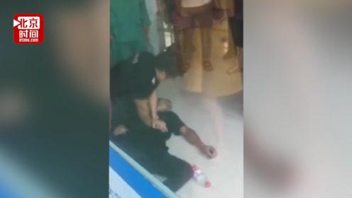最关键的3分钟!医院保安大哥抢救晕倒小伙 抢回一条生命