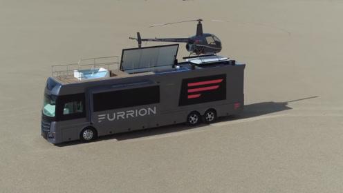 世界上最奢华的房车,你见过搭配直升机的房车吗?