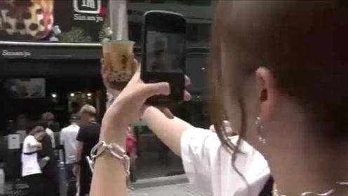 痴迷珍珠奶茶!日本珍珠输入量涨4.3倍,关西地区涨21倍