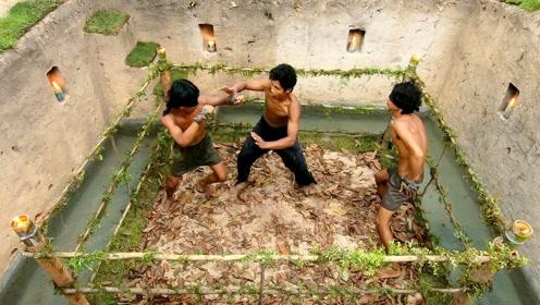 动手自然生活:修建擂台玩玩