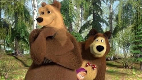 小熊用鲜花追求母熊,半路却杀出个大黑熊,结果还是输给了肌肉!