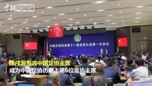 陈戌源当选新任足协主席称将老老实实按足球规律办事
