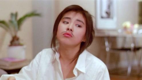 王祖贤穿背带裤扮嫩 谁能看得出她已经52岁?