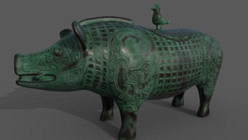 """湖南农民挖出""""青铜猪"""",商人天价回购,老农:我要交给国家"""