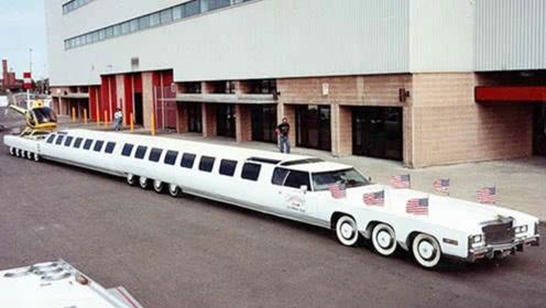 全世界男人的梦想,超级豪华房车,自带停机坪和游泳池!