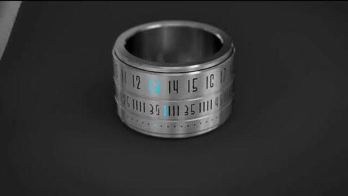时间戒指,用时间锁定你我今生,只为陪你每一分一秒!