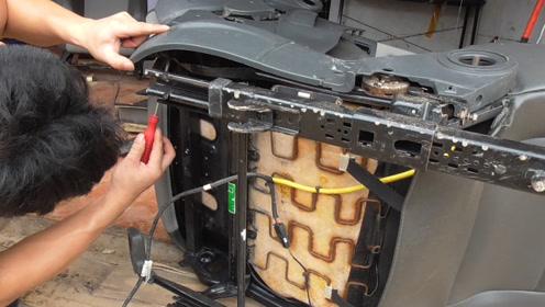 看看汽车座椅附件是如何安装的,看完后你会安装吗?