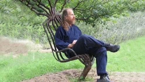 大叔花10年种出400把椅子,一把竟能卖25万,一起来见识下