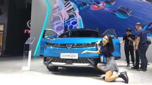 成都车展亮相 广汽新能源Aion LX开启预售