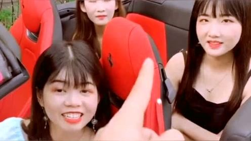 老公带全家出游,姐姐在车上被各种套路