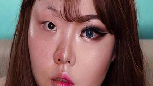 每天化妆和长期素颜女生,10年后皮肤差距多大?这张脸不忍直视
