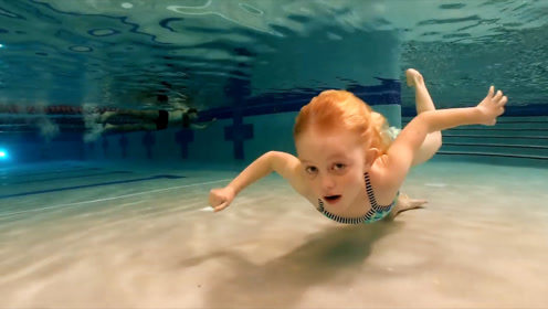 水里睁开眼睛的人是怎么做到的,为何很多人却做不到?原来有技巧