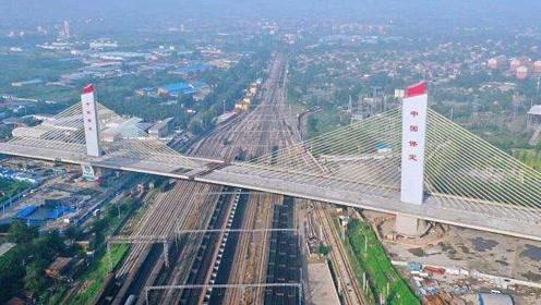 """中国""""会跳舞的桥""""!8万吨桥身原地旋转180度,堪比科幻大片"""