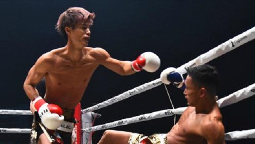 在少林寺惨败的日本天才,如今一回合KO泰拳国宝,豪夺千万奖金