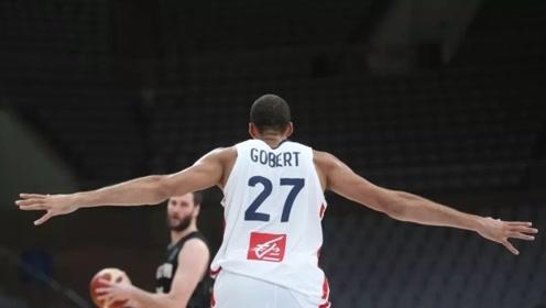 法国内线巨无霸!戈贝尔2019年篮球世界杯高光集锦合集