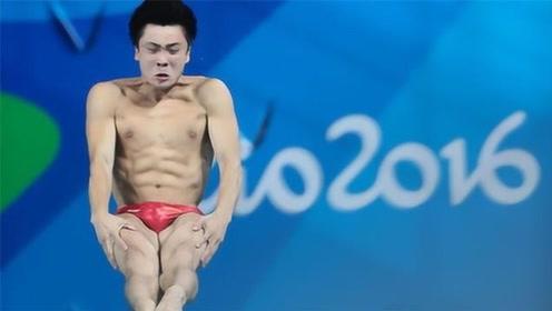 惊人的落水姿势!菲律宾创世界第一个零分跳水,网友:来搞笑的?