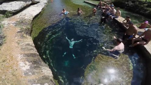 """美国水下""""死亡洞穴"""",里面构造复杂,这么危险却仍有不少人挑战"""