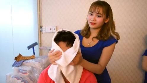 越南理发店一次一百,游客竟然排长龙也要理发?看完才知其中门道