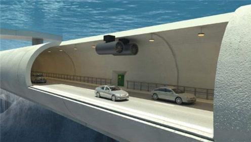 中国造的海底隧道竟破了吉尼斯世界纪录,海下40米仍可正常通行