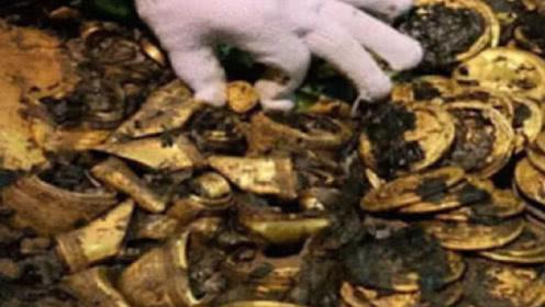 """河南惊现""""北斗七星""""墓,内藏40万斤黄金,进去之后慌了"""